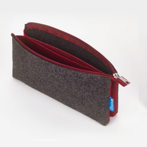 Itoya Midtown Pouch Charcoal 4 x 7in