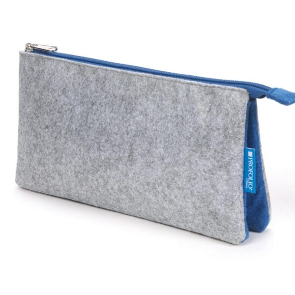 Itoya Midtown Pouch Gray 5 x 9in