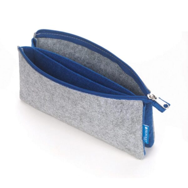 Itoya Midtown Pouch Gray 4 x 7in