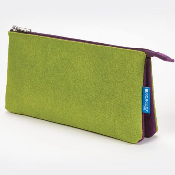 Itoya Midtown Pouch Green 5 x 9in