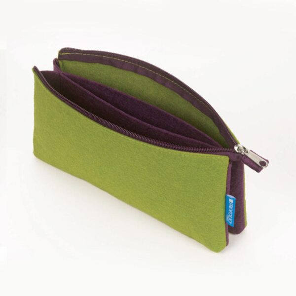 Itoya Midtown Pouch Green 4 x 7in