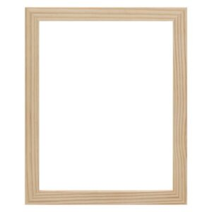 Ambiance Gallery Frames Unfinished Wood Frames  - Natural 18in x 24in x 1-1/4in Profile