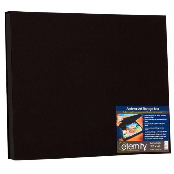 Eternity Archival Museum Boxes - Black 24in x 32in x 2-1/4in Profile