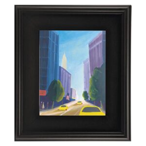 Plein Aire Wood Frames  - Black 24in x 36in x 3in Profile