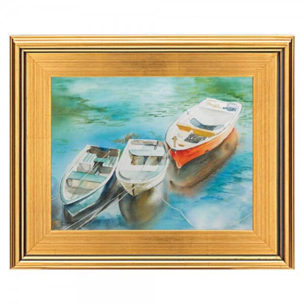 Plein Aire Wood Frames  - Gold 24in x 36in x 3in Profile