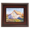Plein Aire Wood Frames  - Mahogany 24in x 36in x 3in Profile