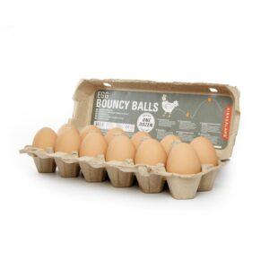 Kikkerland Egg Bouncy Balls