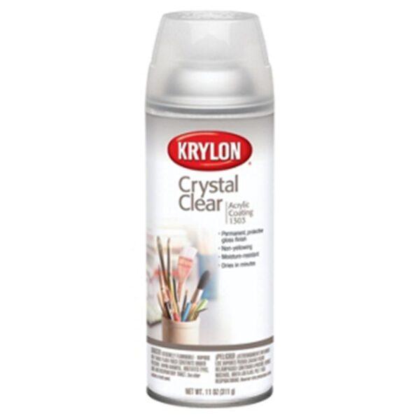 Krylon Crystal Clear Acrylic - 1303 Gloss 400 ml