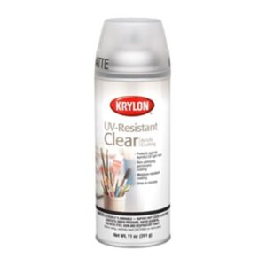 Krylon UV Resistant Clear Spray 400 ml