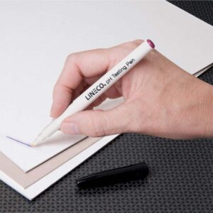 Lineco Ph Testing Pen White Barrel