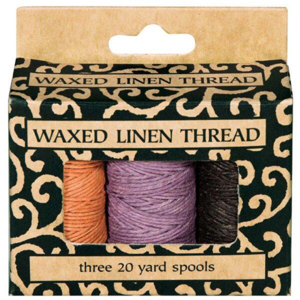 Lineco Waxed Linen Thread Spool 3 in x 20 Yd