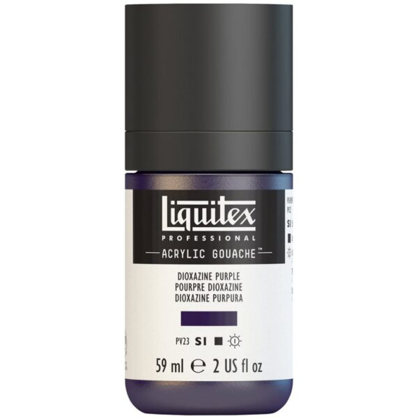 Liquitex Professional Acrylic Gouache - Dioxazine Purple 59 ml (2 OZ)