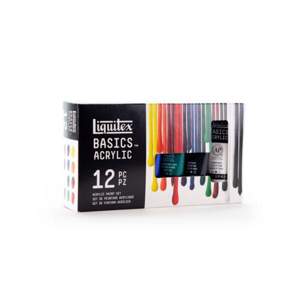 Liquitex Basic Set 24 x 22ml Angle