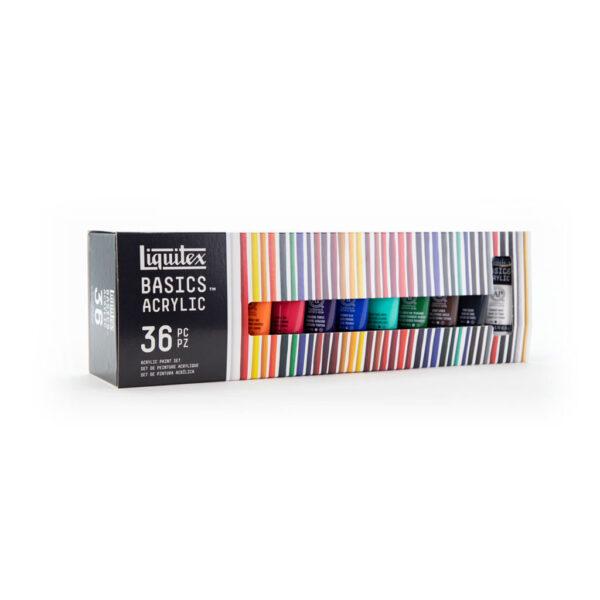 Liquitex Basic Set 36 x 22ml Angle