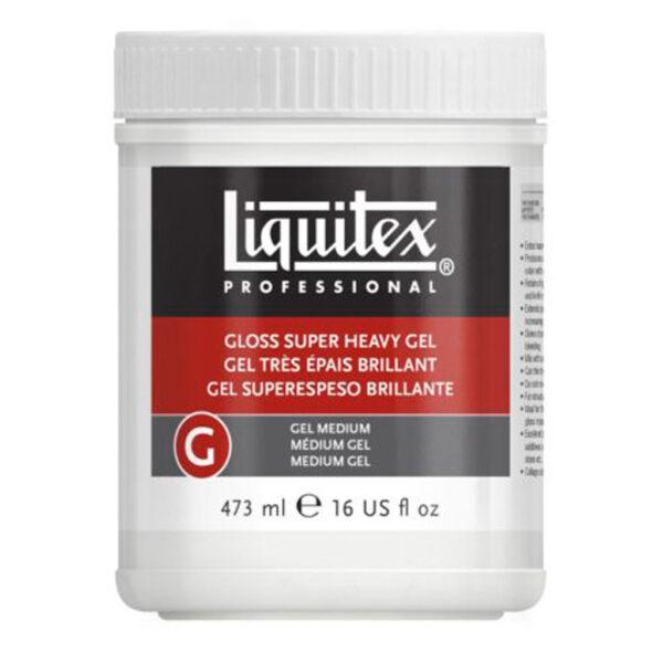 Liquitex Gloss Super Heavy Gel Medium 473ml (16 oz)