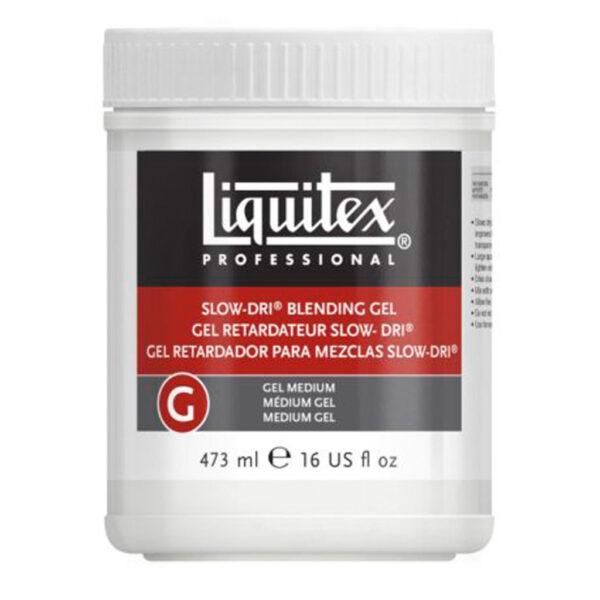 Liquitex Slow-Dri Blending Gel Medium 473ml (16 oz)