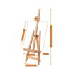Mabef Miniature Easel Lyre M-21 Detail