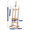 Mabef Studio Easel M-10 Features