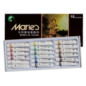 Maries Artist Oil Color Set of 18