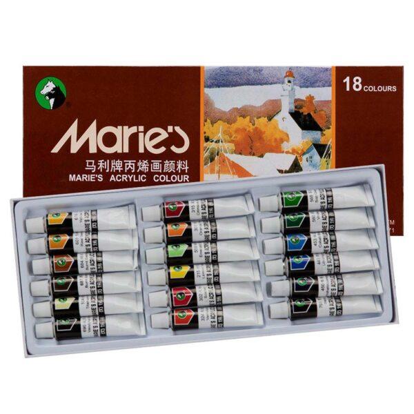 Maries Extra Fine Acrylic Set of 18