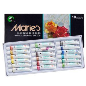 Maries Extra Fine Gouache Set of 18