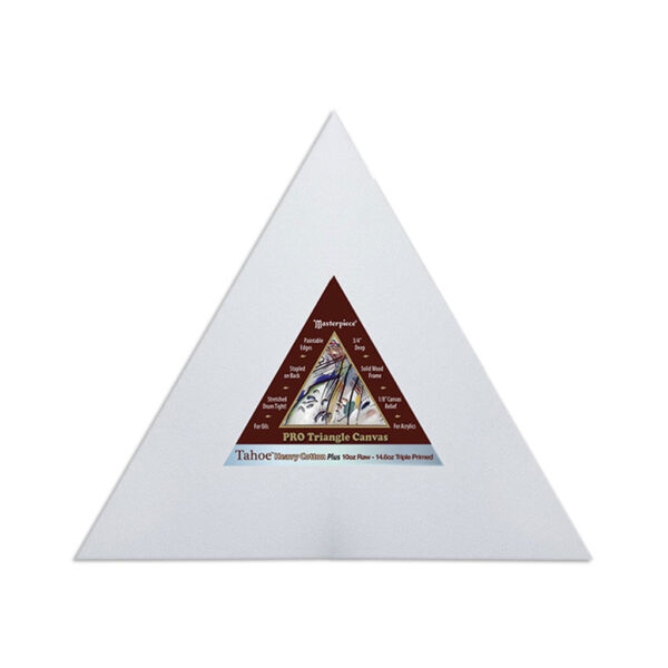 Masterpiece Tahoe Cotton Canvas Shapes - Triangle 17in