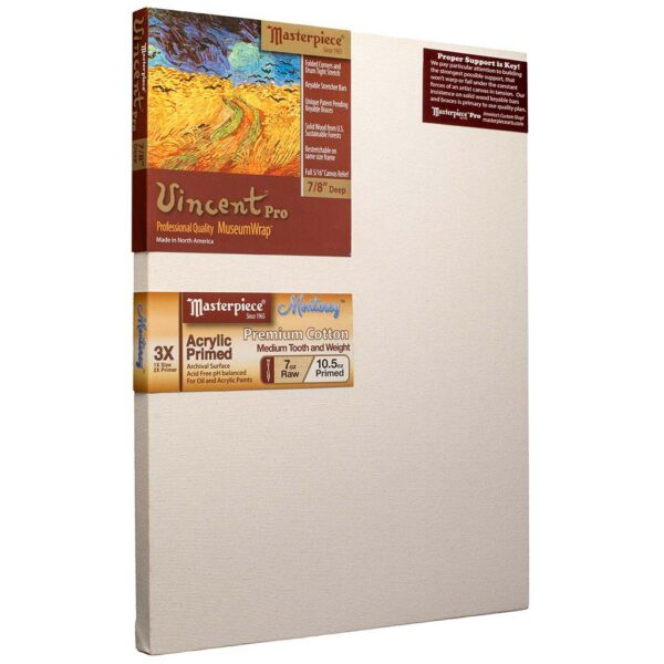 Masterpiece Vincent Pro Monterey Cotton Canvas - 36 x 60in 1-1/2in Profile