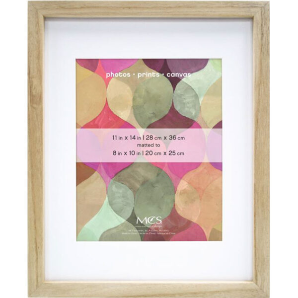 MCS Gallery Wood Art Frames - Natural 30in x 40in Mat Size