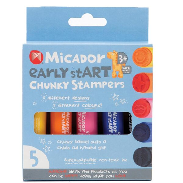 Micador Early Start Chunky Stampers 5 Pack