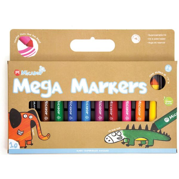 Micador Mega Marker Set of 10