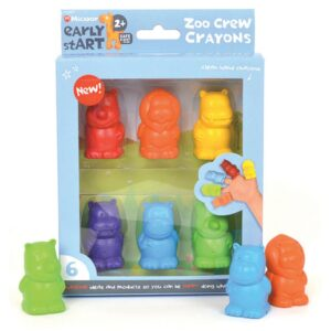 Micador Early Start Zoo Crew Crayons
