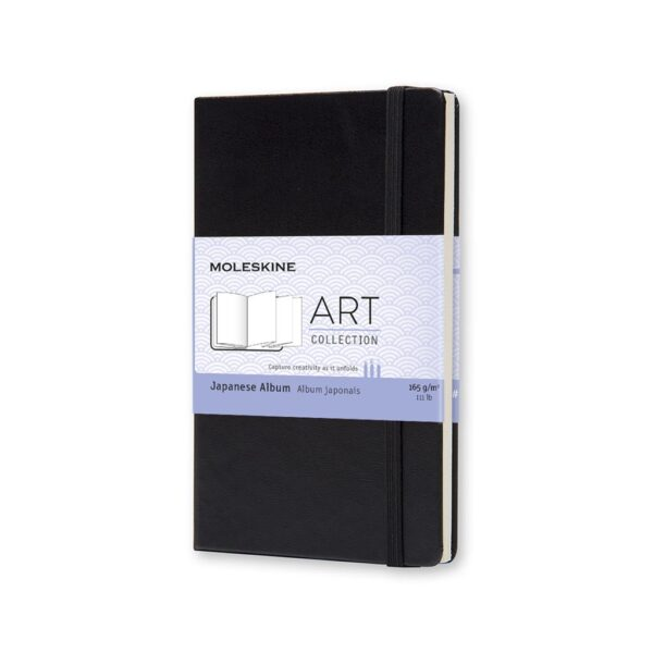 Moleskine Japanese Album Pocket Black 3.5X5.5 In