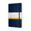 Moleskine Classic Notebook Softcover Expanded Large Dot Sapphire Blue 5X8.25 In