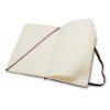 Moleskine Classic Notebook Large Plain Open