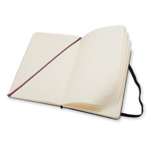 Moleskine Classic Notebook Large Plain Open