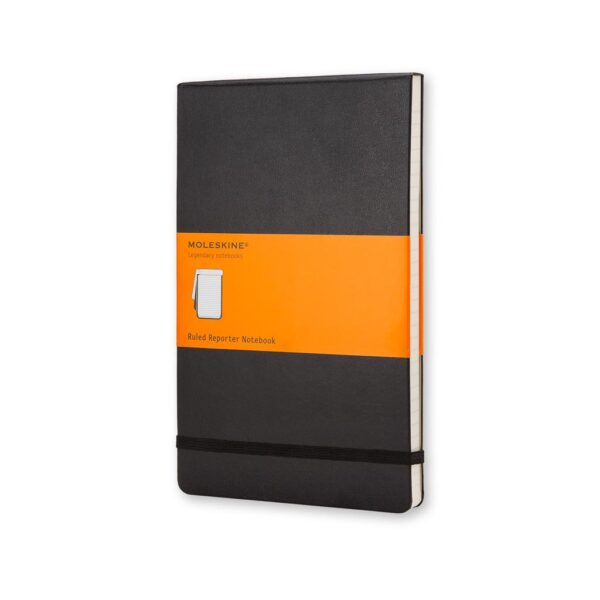 Moleskine Reporter Notebook Hardcover Pocket Ruled 3.5X5.5 In
