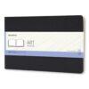 Moleskine Sketchbook Reporter Softcover Large Black 8.26X5.11 In