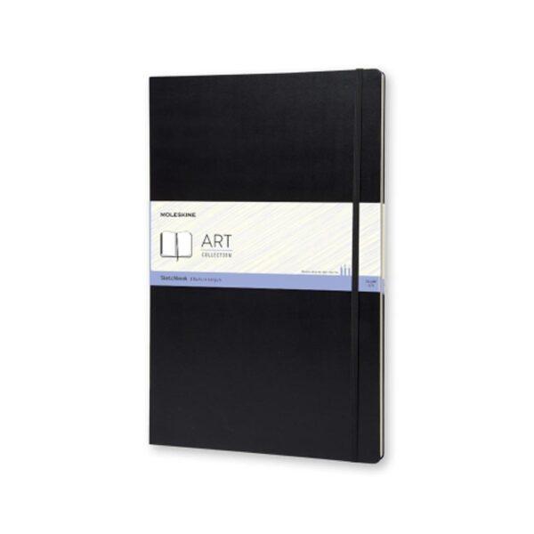 Moleskine Sketchbook Reporter Hardcover XXL Black 16.5X12 In