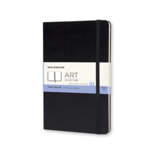 Moleskine Sketchbook Hardcover Large 5X8.25 In