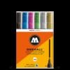 Molotow One4All Acrylic Marker Sets - 227HS Metallic Set 6 x 4mm