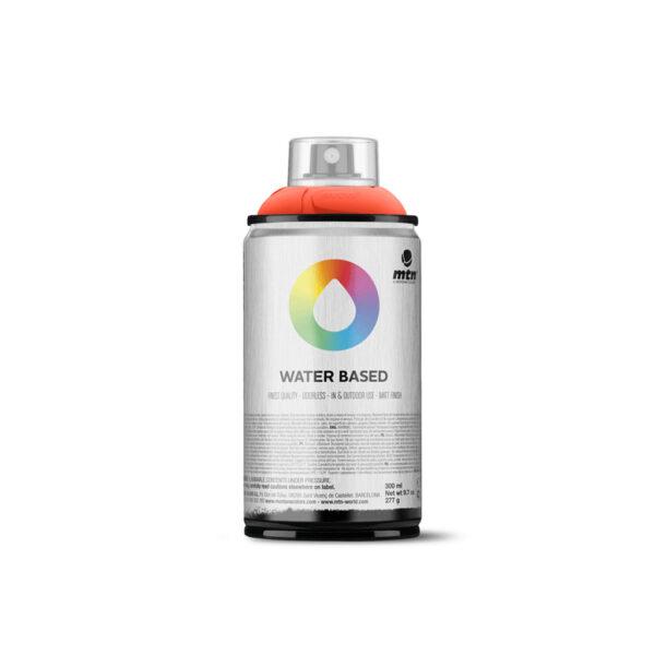 MTN Water Based Spray Paint - Azo Orange Deep WRV209 300 ml (NET WT 10 OZ)