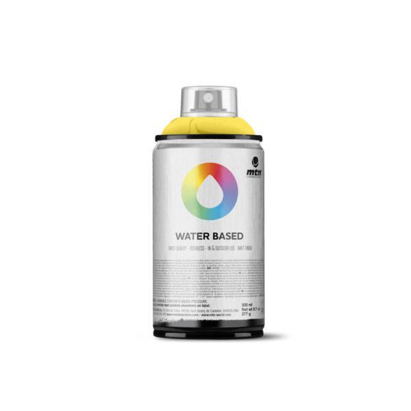 MTN Water Based Spray Paint - Fluorescent Yellow WRVFY 300 ml (NET WT 10 OZ)