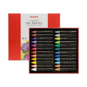 Mungyo Artists Water Soluble Oil Pastel Sets - Pearl Set of 24