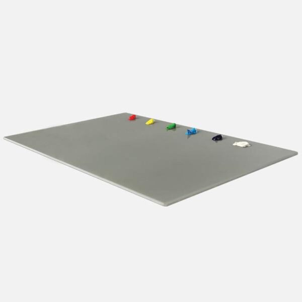 New Wave Ugo Glass Palettes - Grey Glass 9in x 12in
