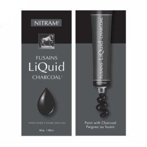 Nitram Liquid Charcoal Fusains 50ml