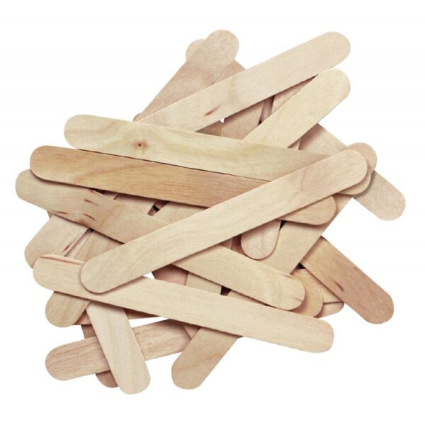 Pacon Wood Craft Sticks - 4.5in x 0.375in (150 PK)