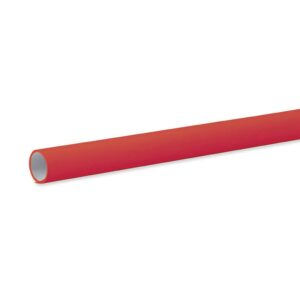 Pacon Fadeless Paper Rolls - Flame Matte 48 x 12 ft