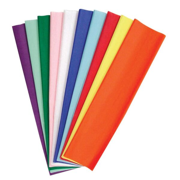 Pacon Art Tissue Paper - Kolorfast Assorted 20 x 30in
