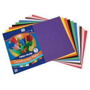 Pacon Tru-Ray Construction Paper 12x18 Assorted