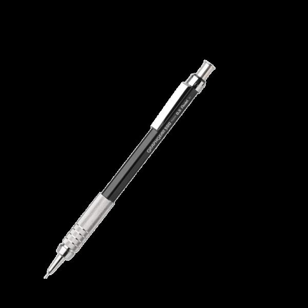Pentel Graph Gear 500 Mechanical Drafting Pencils  - Black Barrel  0.5 mm